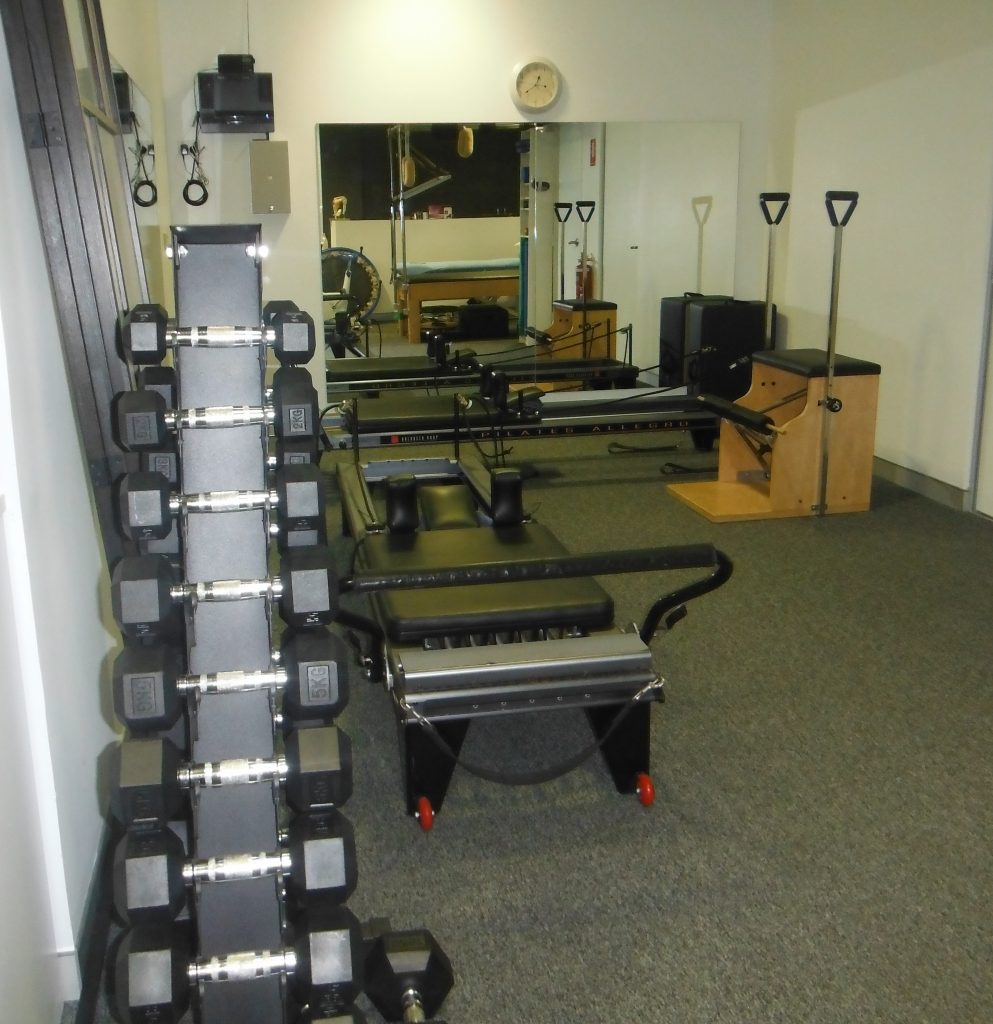 Leichhardt Sports Physiotherapy Clinical Exercise area