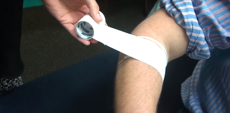 How to tape for tennis elbow