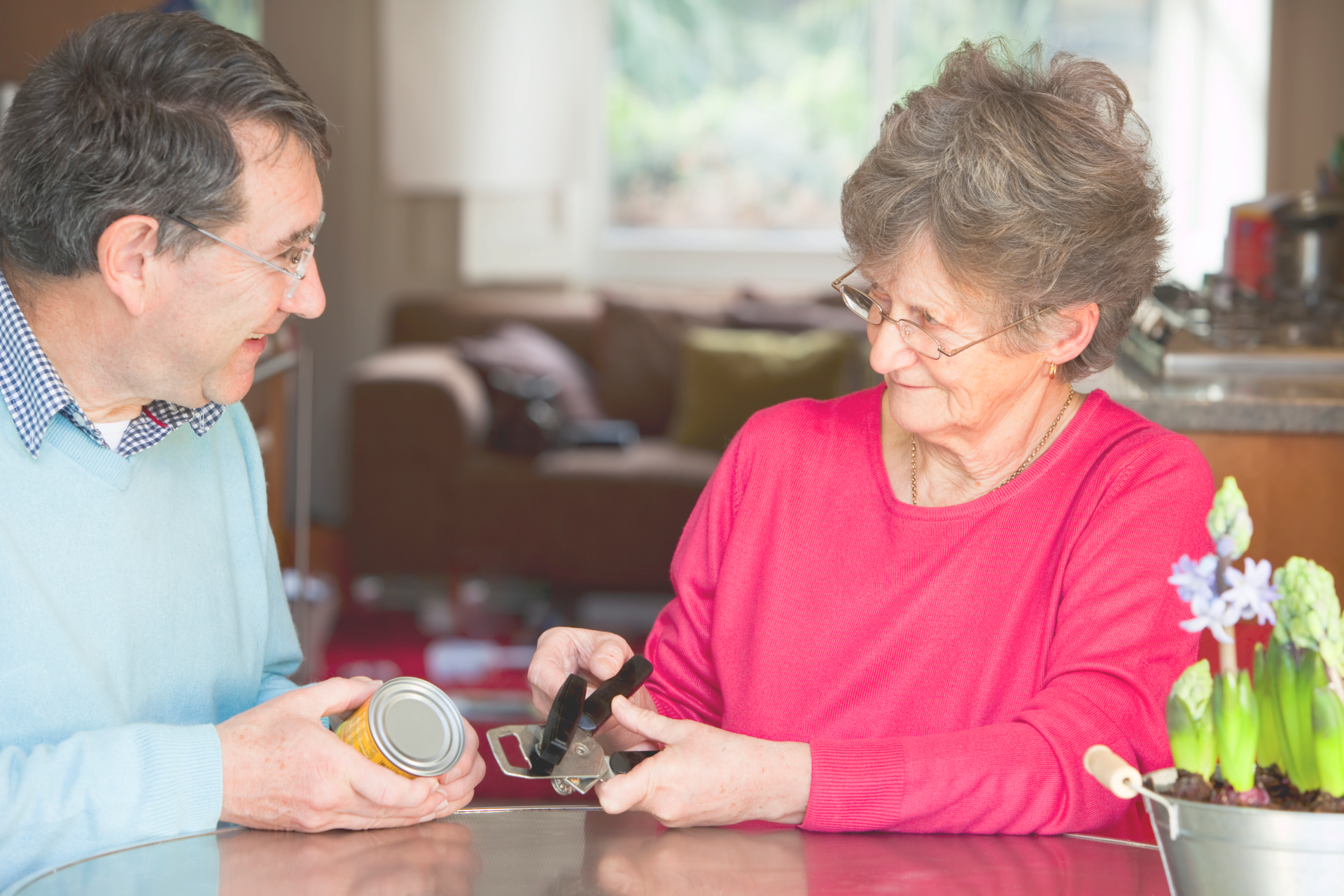 Occupational therapy support in the home